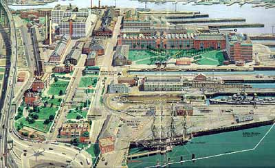 Charlestown Ship Yard